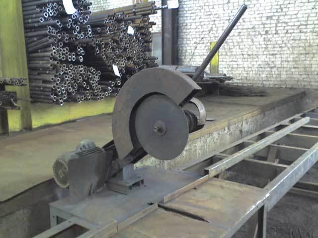 Дисковый отрезной станок для металла своими руками