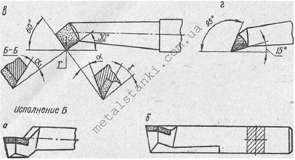 Геометрия расточного резца по металлу