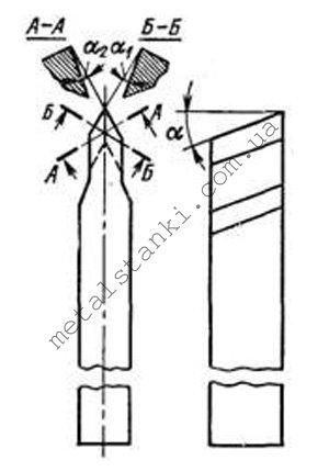Геометрия резца для наружной резьбы по металлу