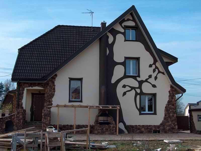 Декоры для фасада дома своими руками