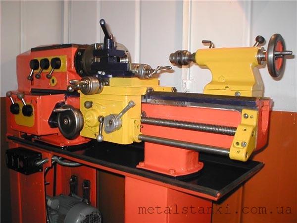 Школьный токарный станок по металлу